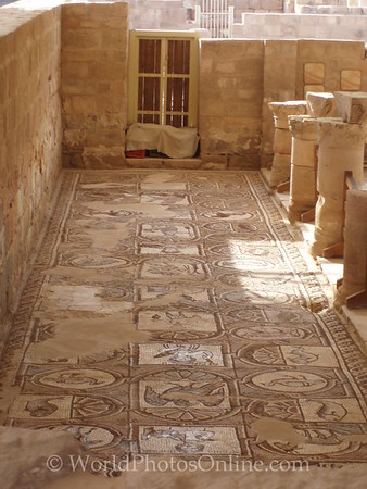 Petra - Byzantine (Ridge) Church - Mosaic Floors