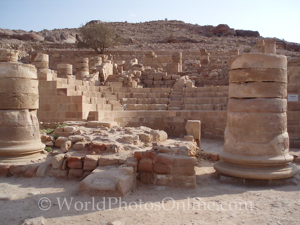 Petra - Great Temple - Inner Theater