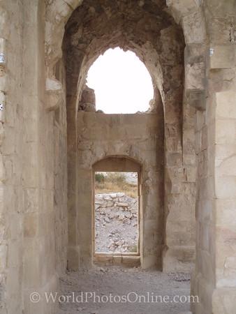 Shobak Castle - Court of Baldwin I