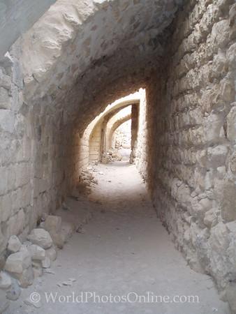Shobak Castle - Keep Passage