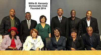 Top Left - Micah J. Fobbs, Dr. Toye Moses, Ms. Leah Pimentel, Mr. Shamann Walton, Mr. Lamont Bishop, Julius M. Turman,Esq., Bottom Left: Dr. Veronica Hunnicutt, Ms. Mary Jung, Ms. Linda Richardson, Ms. Lisa Williams, Lance Burton. Photo by, Planet Fillmore Communications