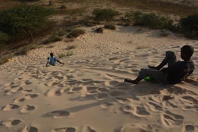 Toboggan des dunes