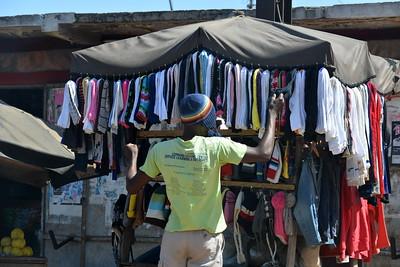 Vendeur de vêtements