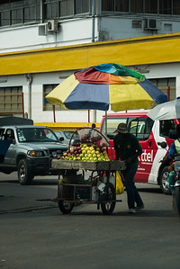 Vendeur de pommes