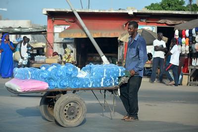 Vendeur d'eau minérale