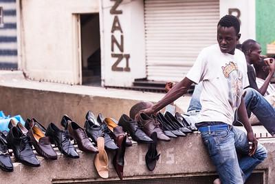 vendeur de chaussures
