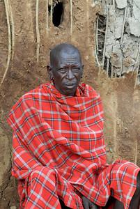 Maasai Chief Tanzania 2008