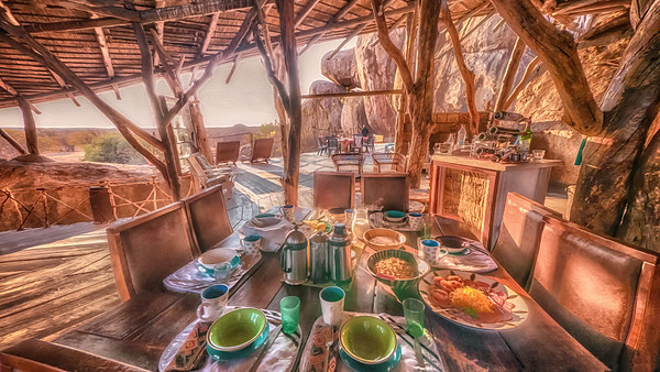 Breakfast in Africa
