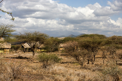 Our outpost in Arusha National Park, Tanzania, Africa.