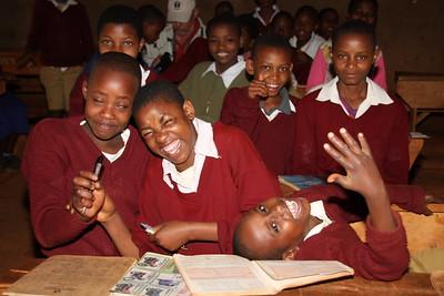 Kids at Karatu Public School, Arusha, Tanzania.
