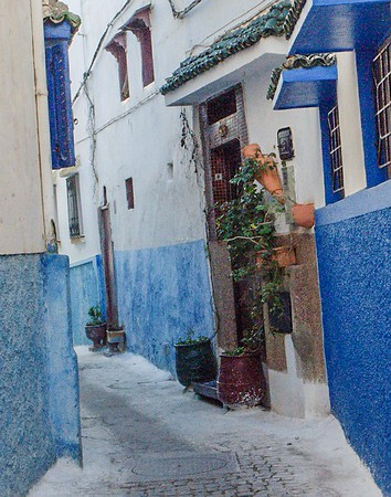 Walkway in Morocco