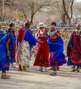 Dancing, Maasi style