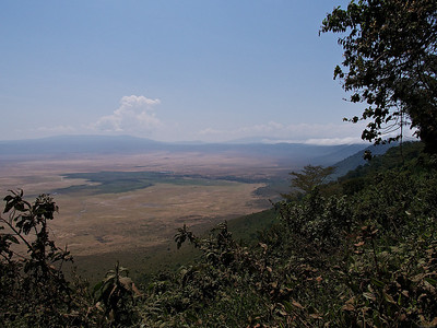 The trip from Nairobi to Arusha, Tanzania, July 2012