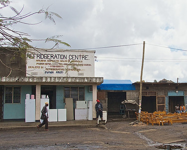 Street Scenes, The trip from Nairobi to Arusha, Tanzania, July 2012