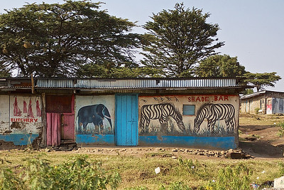 Scenes from the Road in Tanzania and Kenya, Africa