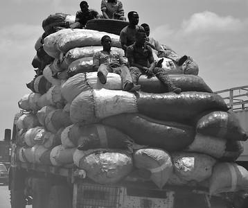 Transport de charbon