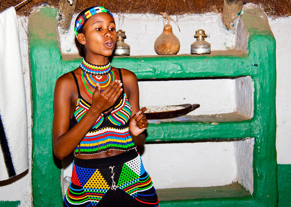 Lesedi Village in South Africa