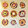 Nine circles-Iorillo, 50x50 painting on canvas JPG