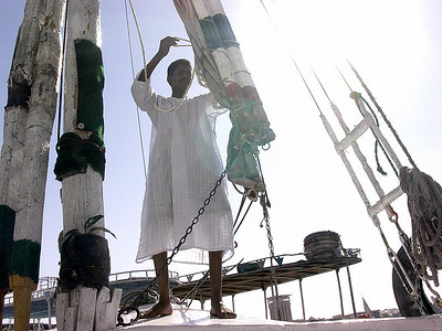 Faluccaseiler ---------------- Falucca sailor (Foto: Ståle)