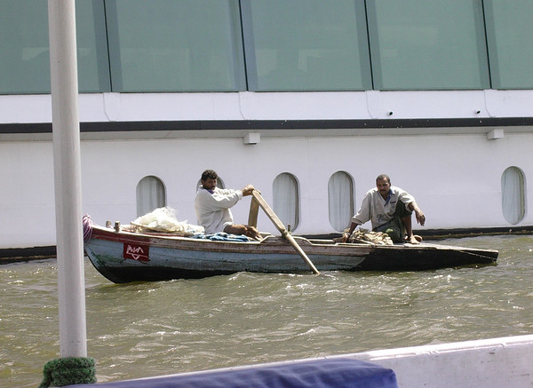 Fiskere på Nilen (Foto: Ståle)
