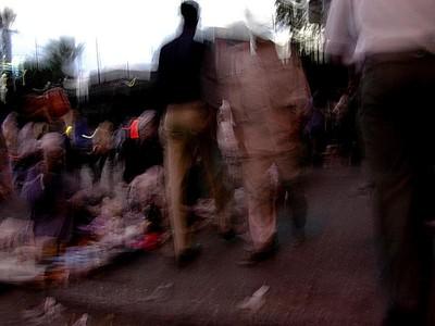 Gateliv i Kairo sentrum (Foto: Ståle)