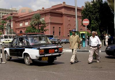 Det Egyptiske museum fra Ramses Street (Foto: Ståle)