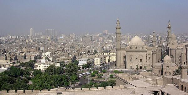 El-Qalaa-plassen sett fra Citadellet (Foto: Ståle)