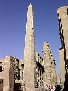Tuthmosisobelisken i Karnak tempelkompleks (Foto: Ståle)