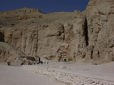 Inngangen til Kongens Dal (Foto: Ståle)