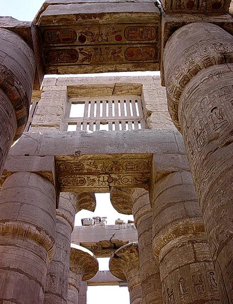 Hypostillehallen i Amuntemplet i Karnak tempelkompleks (Foto: Ståle)