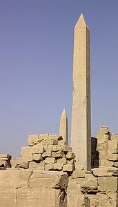 Obelisker i Karnak tempelkompleks (Tuthmosis og Hatsepsut) (Foto: Ståle)