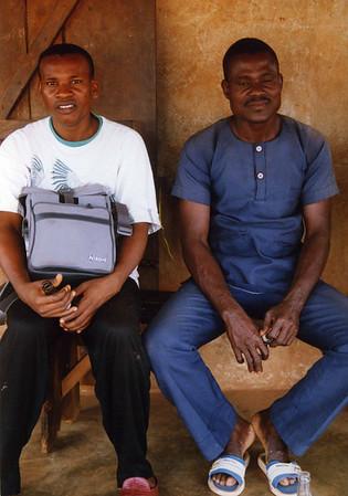 People we met and who assisted us during our visit to Abakaliki and Ikwo, eastern Nigeria. --- To menn som hjalp oss i løpet av oppholdet i Abakaliki og Ikwo, Øst-Nigeria. (Foto: Geir)