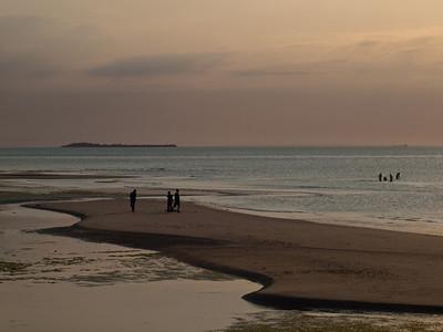 Kveldsstemning på Zanzibar (Foto: Ståle)*