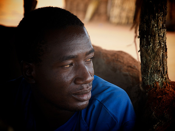 Winston. Our host and an all around good guy. Makumna Village, Kalomo District, Zambia. (Foto: Geir)