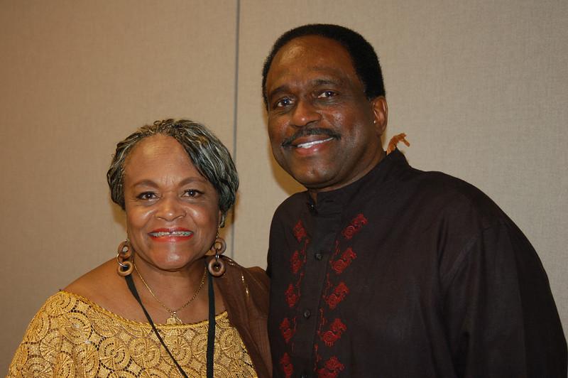 Patsy Jo Hilliard and Atty. LeGrand Clegg.<br /> <br /> Photo copyright Kwaku Person-Lynn, PhD