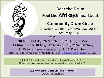 drum flyer