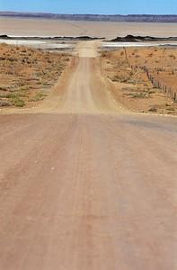 La piste de Namibie