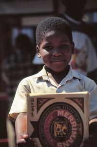 Jeune garçon de Soweto