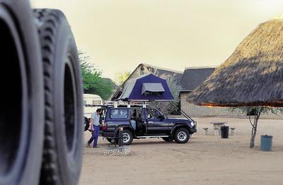 Gemsbok Park - Le camping, façon sud-africaine