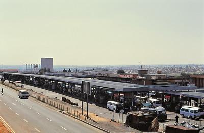 L'entrée de Soweto