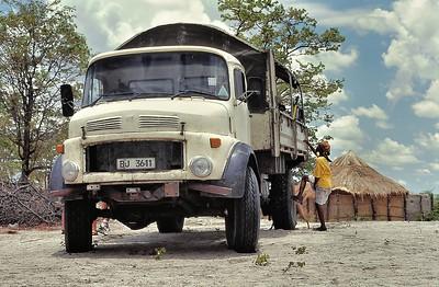 Notre camion d'un jour - Direction Okavango