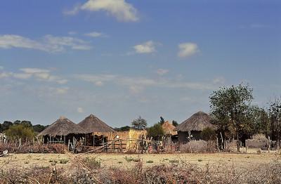 Village de huttes