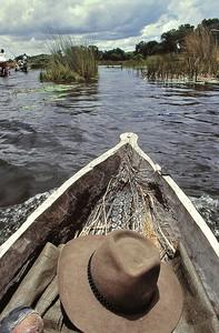 A bord du mokoro