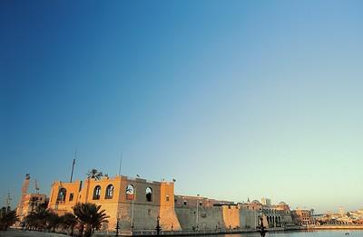 Tripoli - Le musée et le plan d'eau - طرابلس