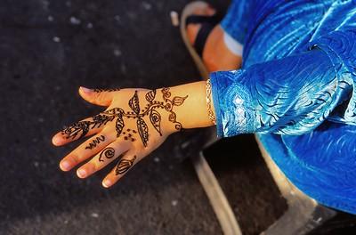 Marrakech - Motifs au henné - مراكش