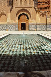 Marrakech - Medersa Ali ben Youssef - مراكش