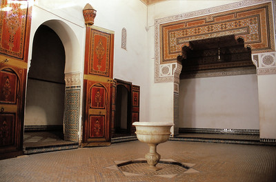 Marrakech - Palais de la Bahia - مراكش