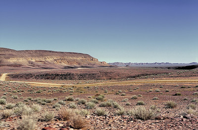Route vers Fish River Canyon