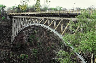 Pont frontière avec la Zambie