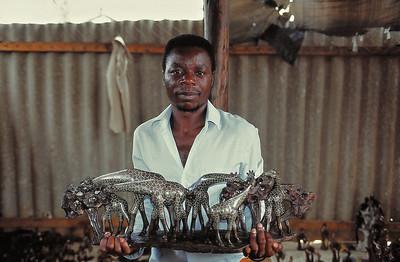 L'artisanat de serpentine